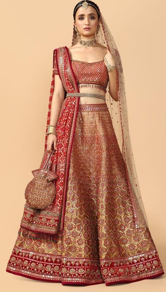 Red Bridal Lehenga Outfit 2020