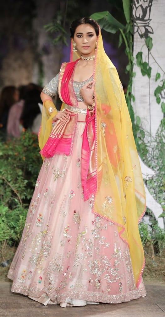Stunning Bridal Lehenga Outfit