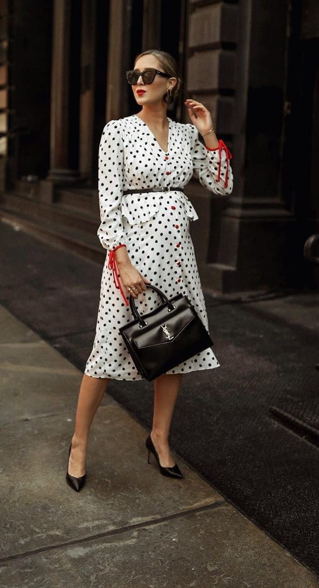 Polka Dot Dress for Spring-Summer 2020