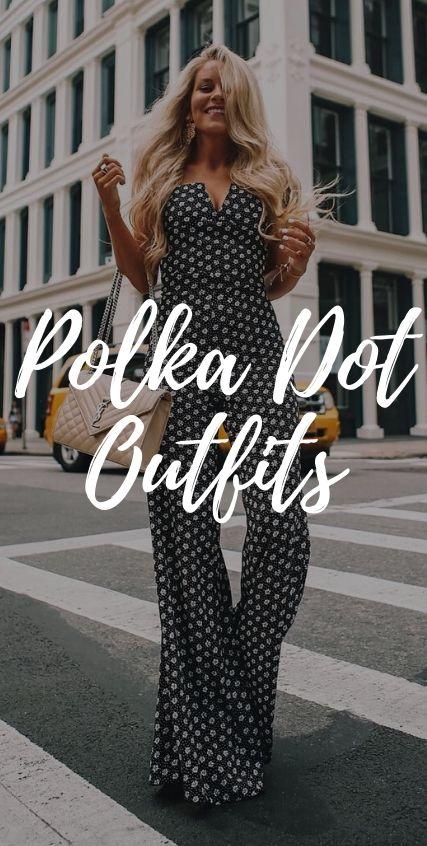 Polka Dot Outfits