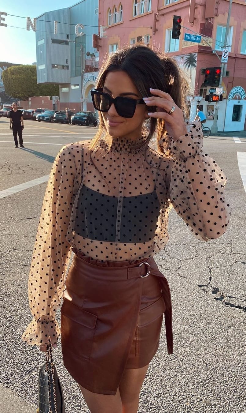 Polka Dot Top Ideas for Summer 2020