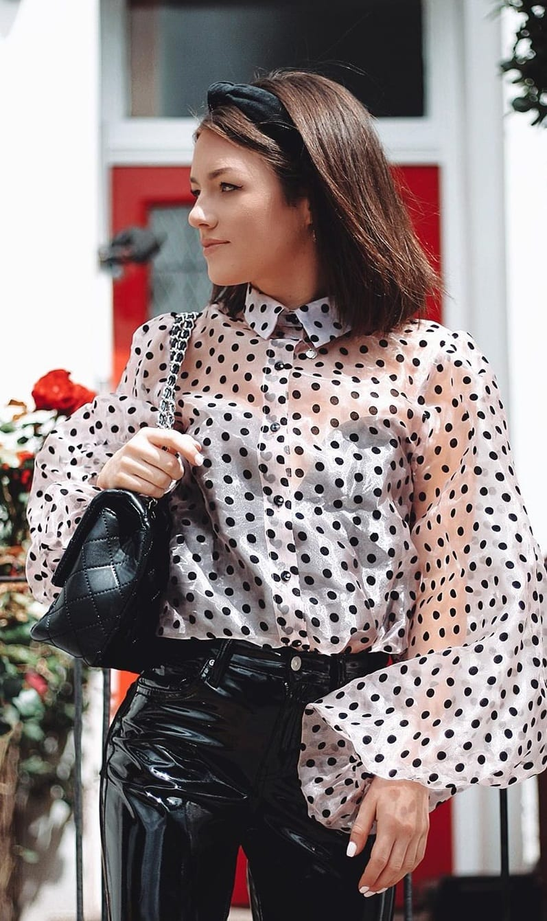 Trendy Polka Dot Top Ideas 2020