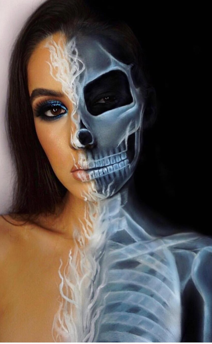 Scariest Makeup Ideas To Try This Halloween