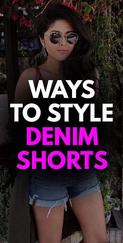 5 Ways To Style Denim Shorts