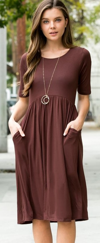 Casual Dresses With Pockets for Her