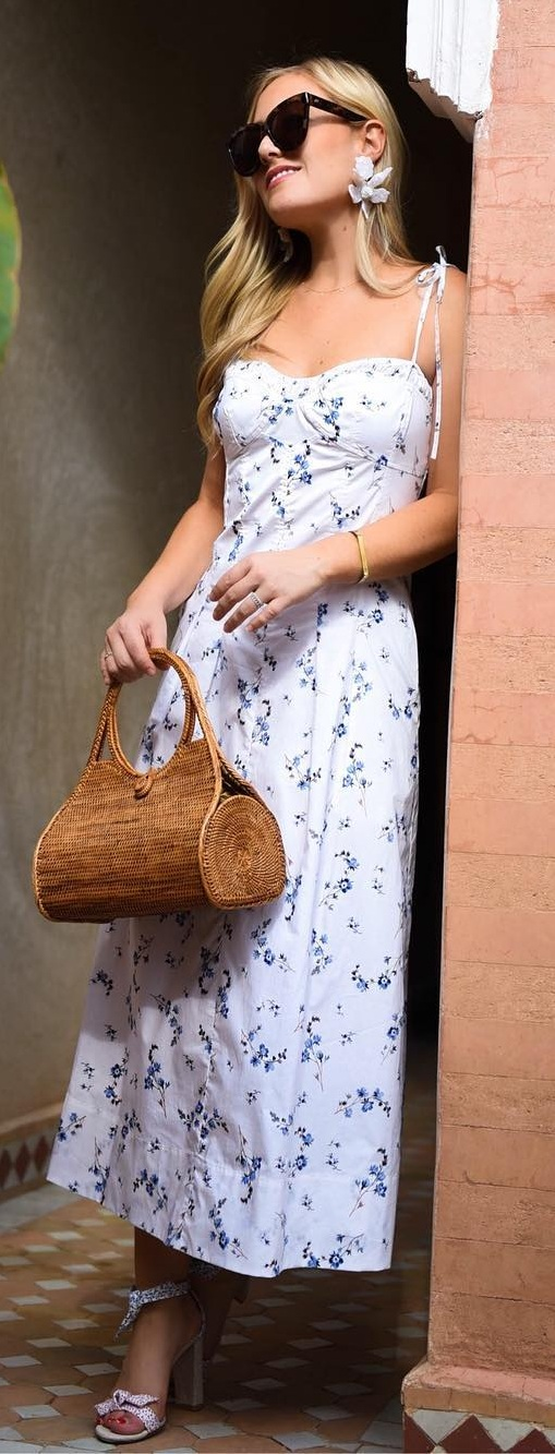 Pretty Summer Outfits- Neutral Colors