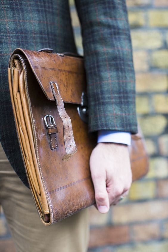 folio bag for professional men