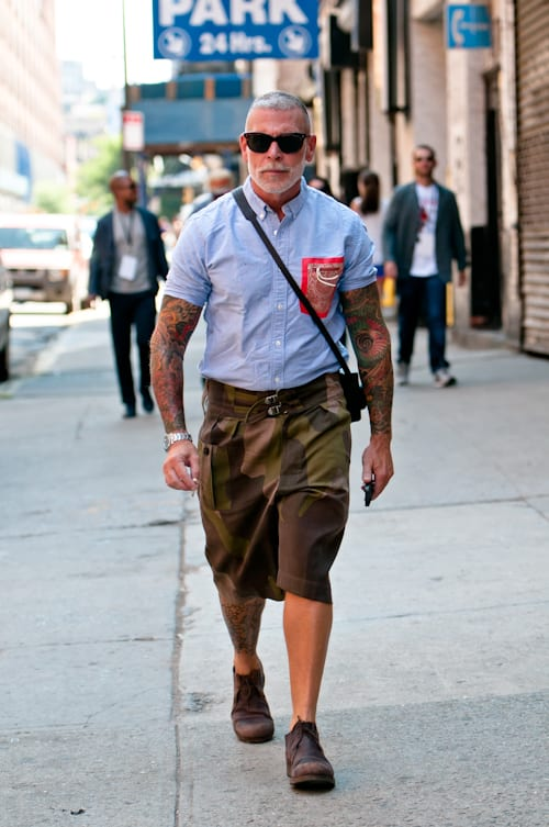 Nick Wooster walk