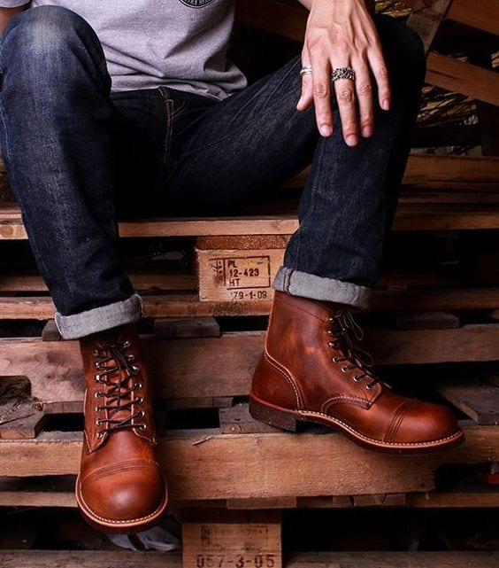 boots for men outfit