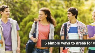 dressing for college made simple
