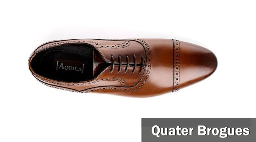 quater brogues for men in style