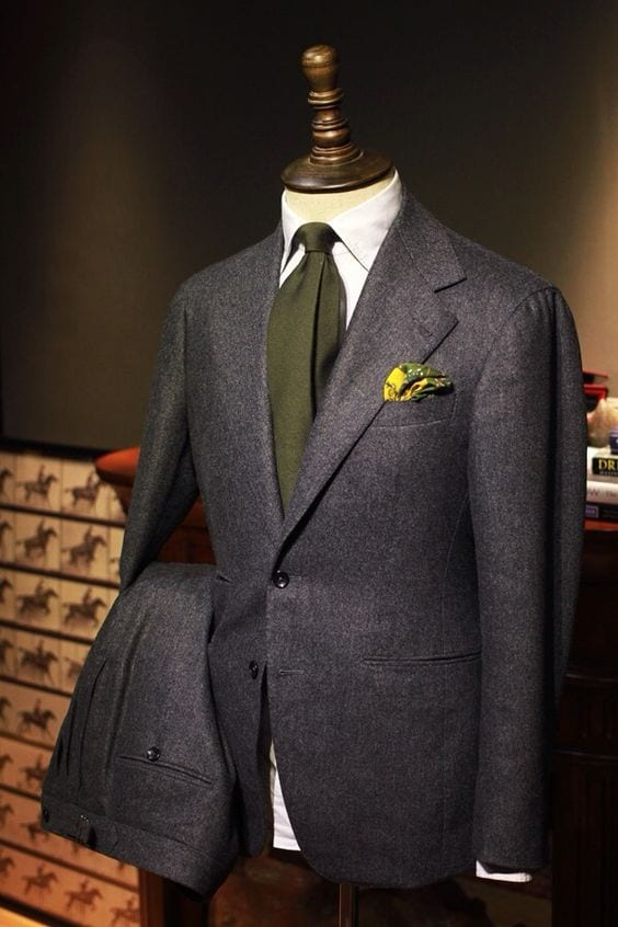 charcoal grey suit men