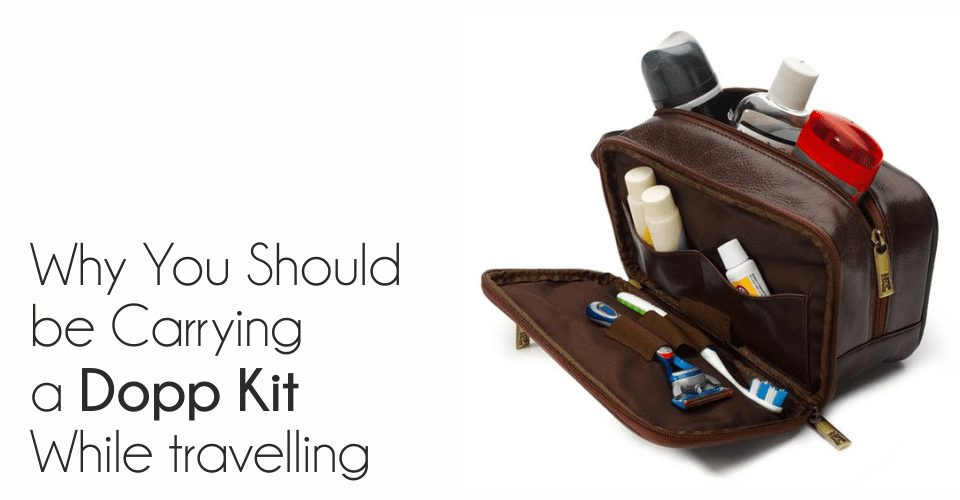 Dopp Kit travelling