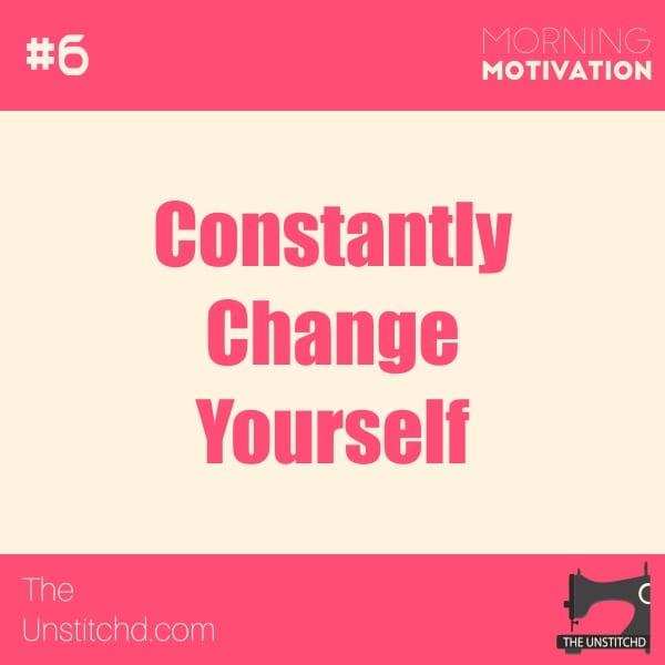 Morning Motivation #6