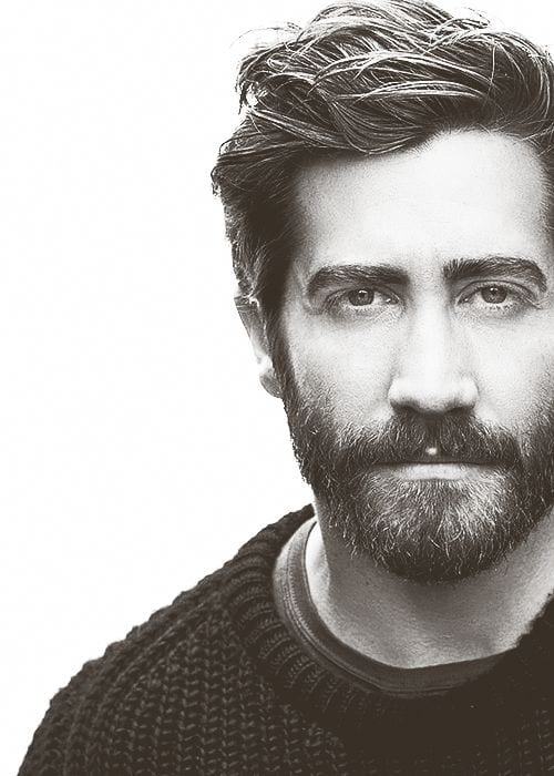 jake gyllenhaal beard style
