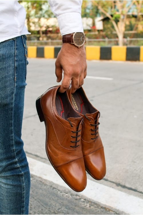 TheUnstitchd Reviews Alberto Torresi's Tan Oxford