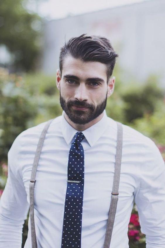 square face beard style for men