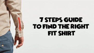 7 Steps Guide To Find The Right Fit Shirt
