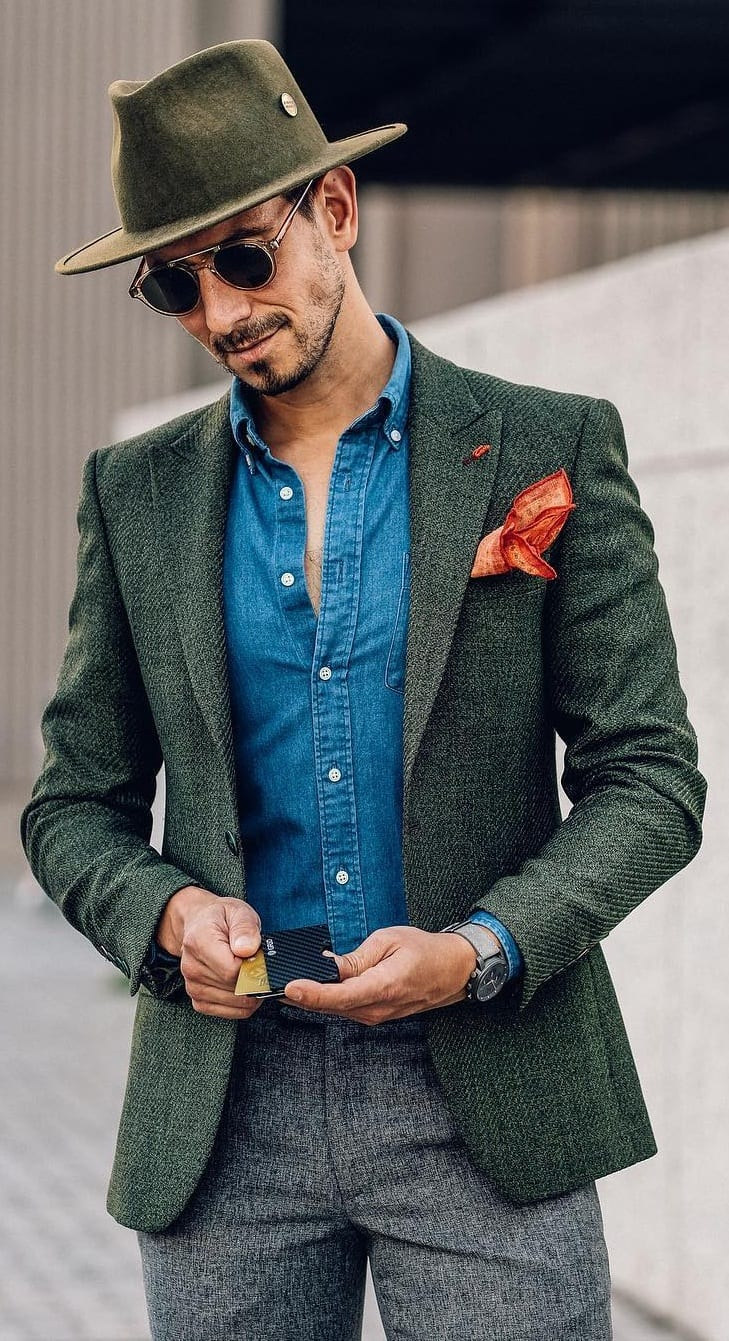 Blazer With Accessories Outfit Ideas