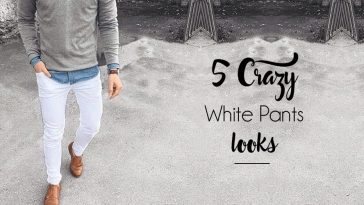 5 Looks - The Crazy White Pants!