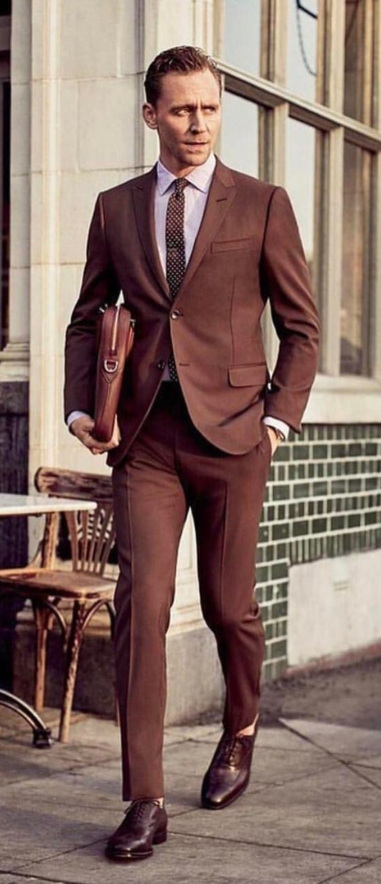 5 Must Have Suits For Men - Brown suit