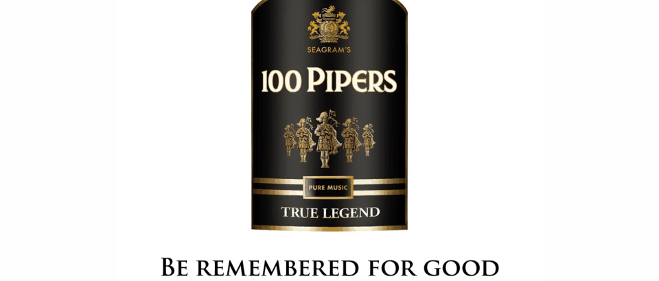 The mellow rendezvous with Seagram's 100 Pipers