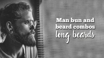 Man bun and beard combos