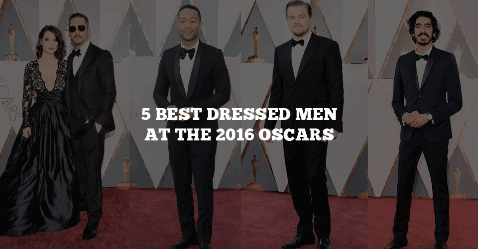 Men Outfit at Oscars 2015