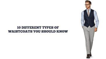 types of waistcoats