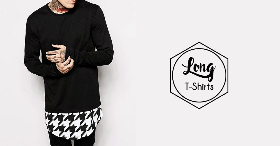 trendy long tshirt looks