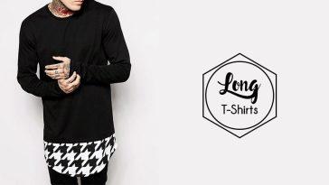 trendy long tshirt looks