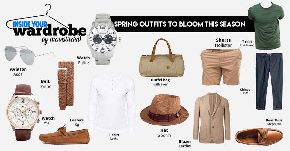 Must have Spring outfits for Men