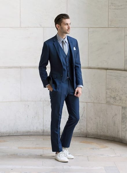 10 Dapper Ways To Style Suits With Sneakers Like A Pro