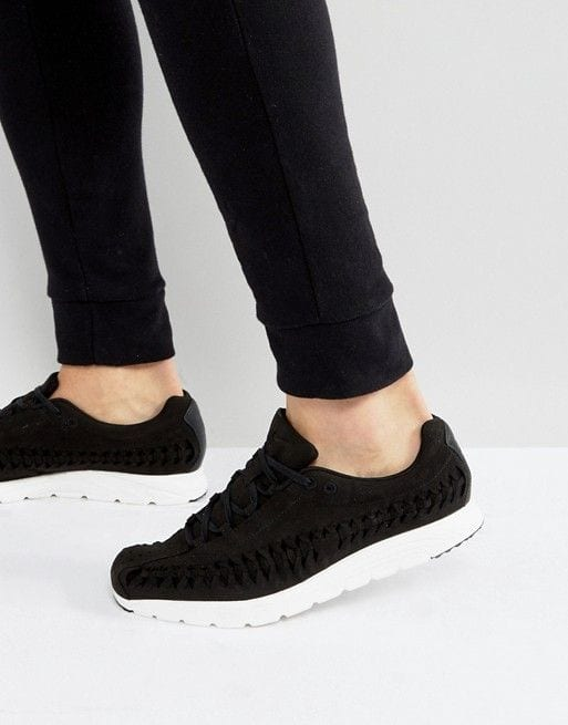 black sneakers for men