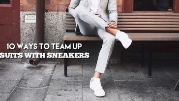 suits with sneakers for men