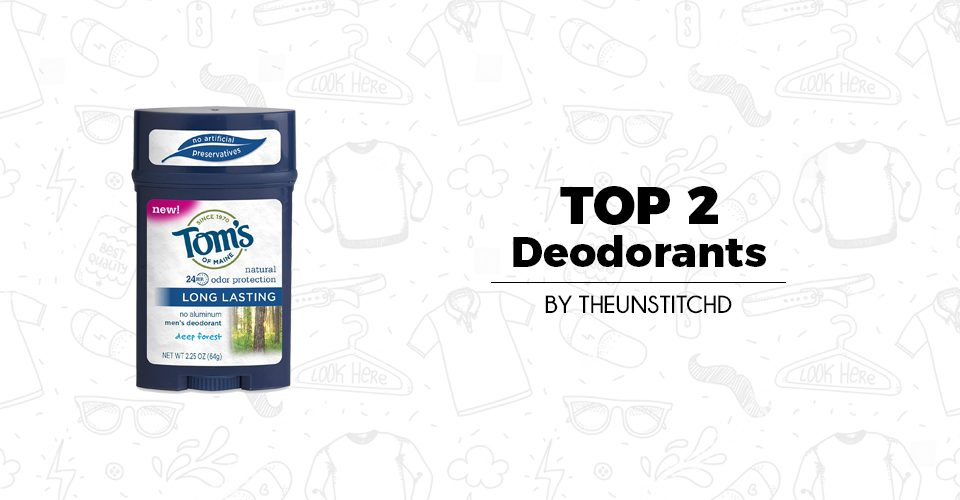 Top 2 Best Deodorants for Men
