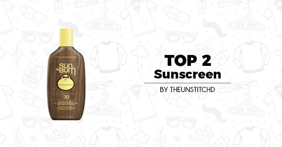 Top 2 Best Sunscreen for Men