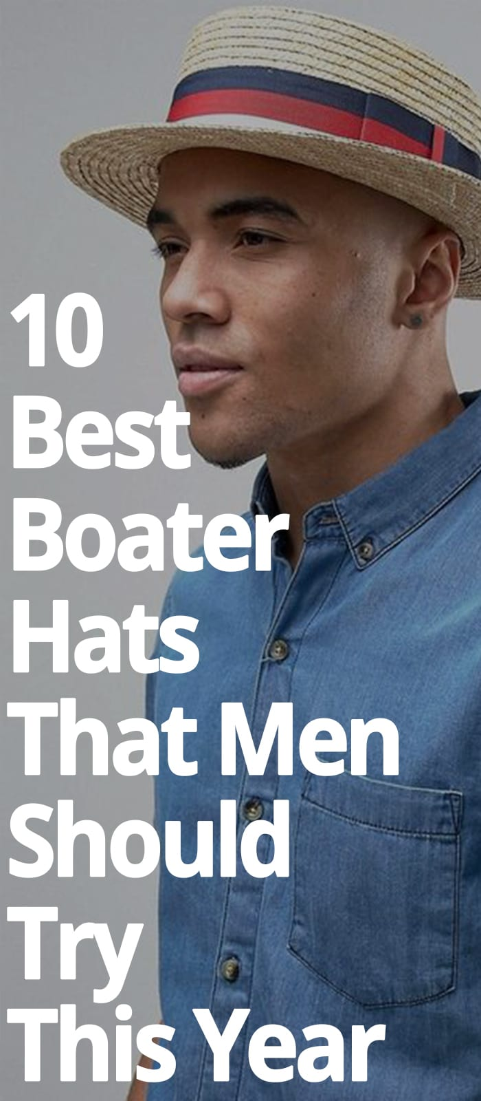 10 BEST BOATER HATS