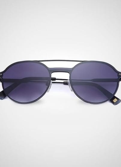 classy notch bridge sunglasses for men