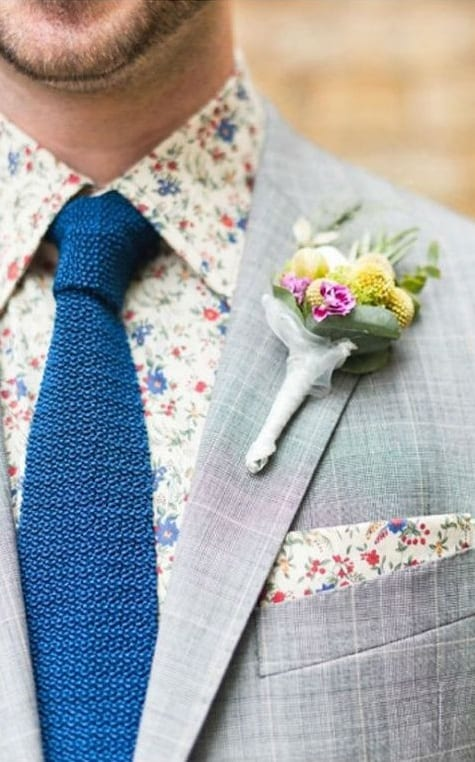 printed pocket squares