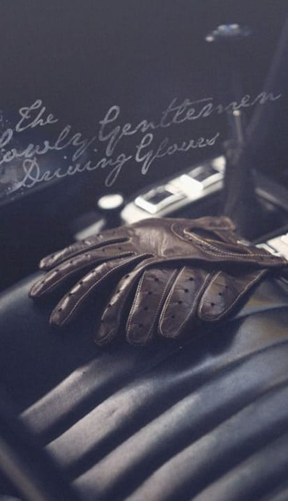 stylish driving gloves for men