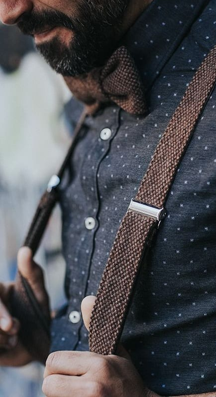 stylish suspenders