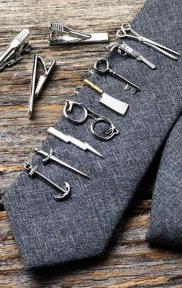 stylish tie pins