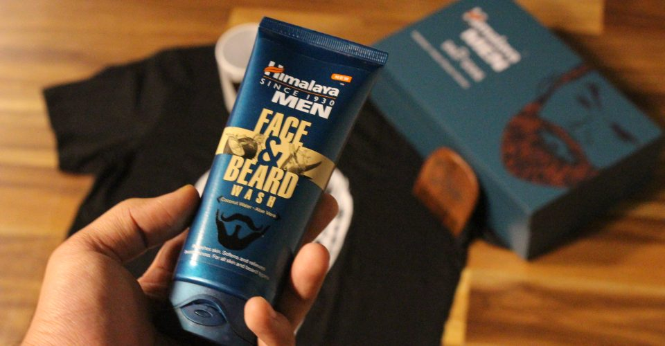 himalaya beard face wash