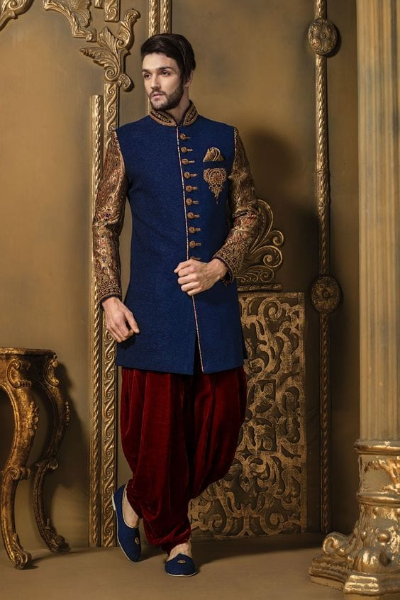 Pathani for wedding ceremony