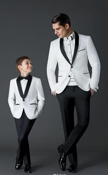 Tuxedos for reception