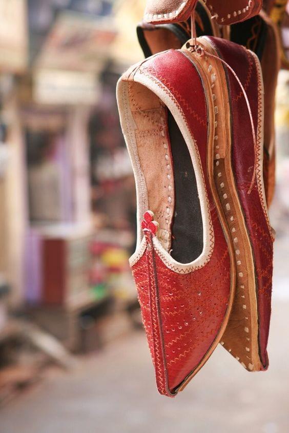 footwear for mehendi