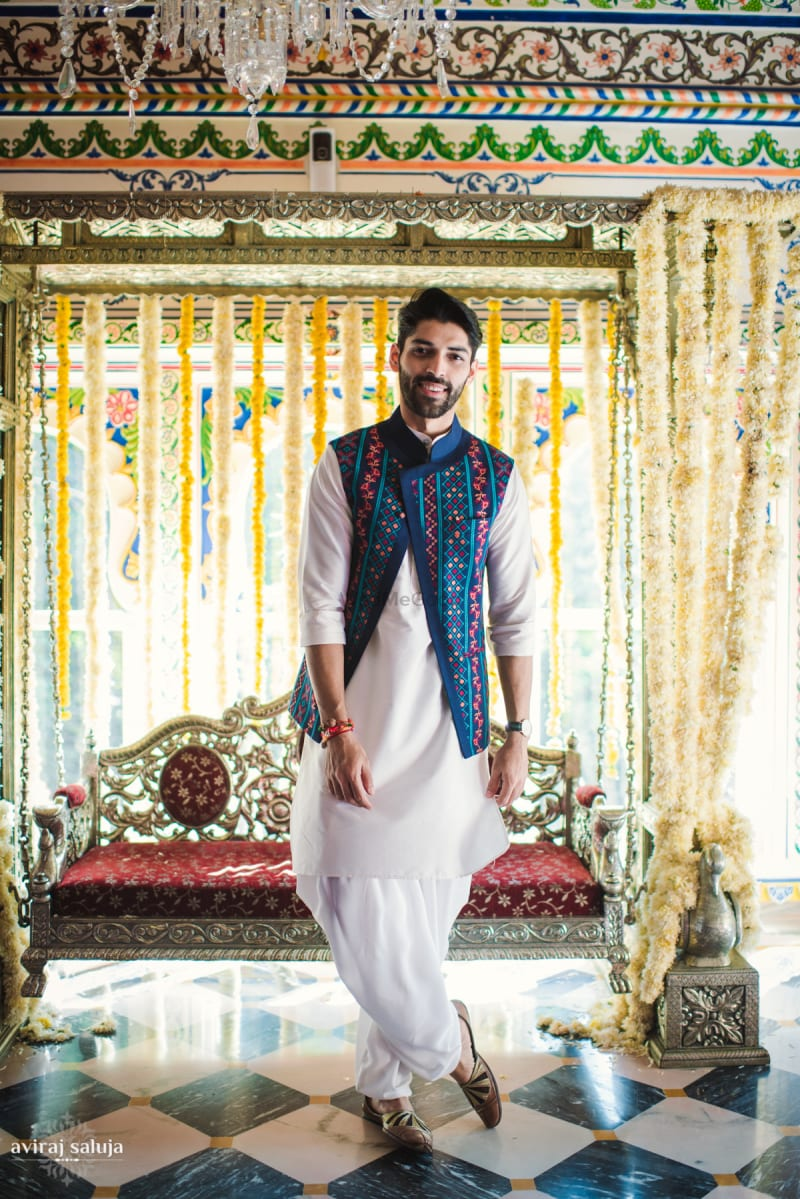 kurta with dhoti