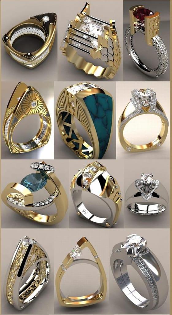 rings for mehendi