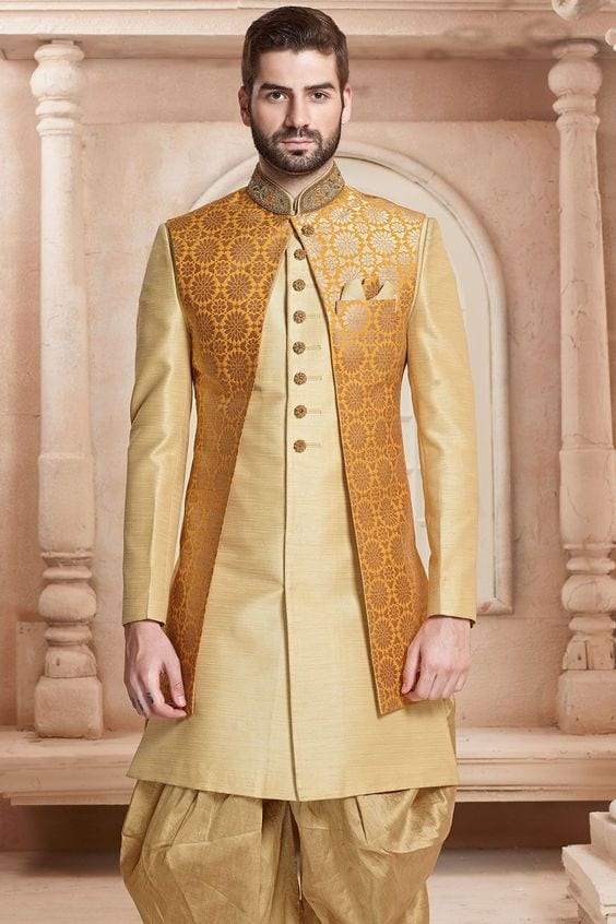 yellow jacket for haldi